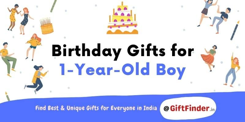 birthday gifts for 1 year old boy