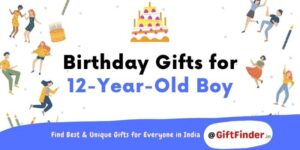 birthday gifts for 12 year old boy
