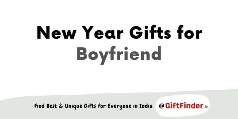New Year gifts for boyfriend