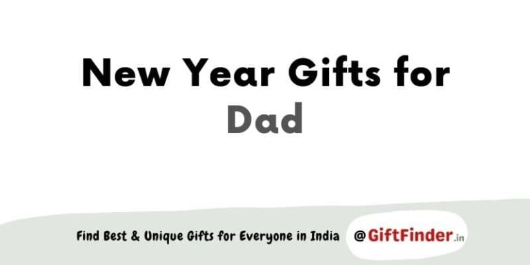 New Year gifts for dad