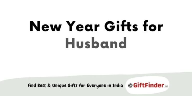 New Year gifts for husband