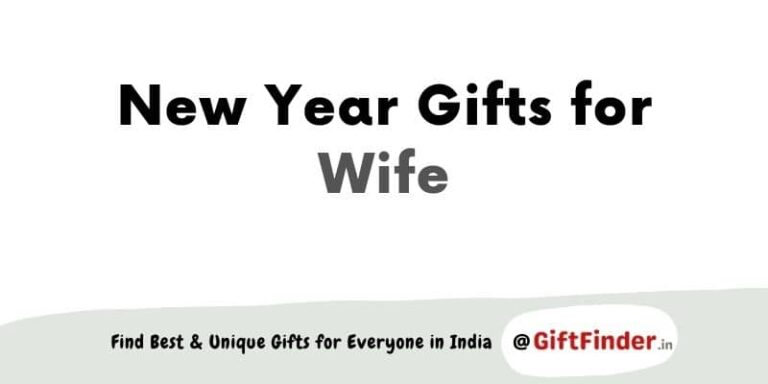 New Year gifts for wife