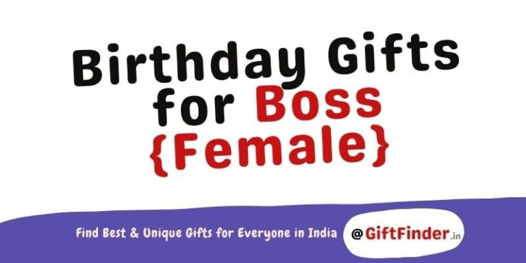 birthday gifts for boss female