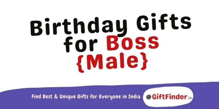 birthday gifts for boss male