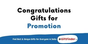 congratulations gifts for promotion