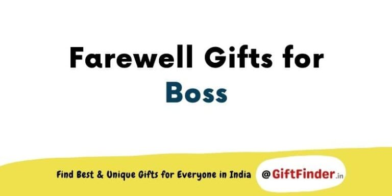 farewell gifts for boss