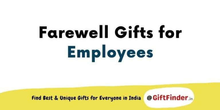 farewell gifts for employees
