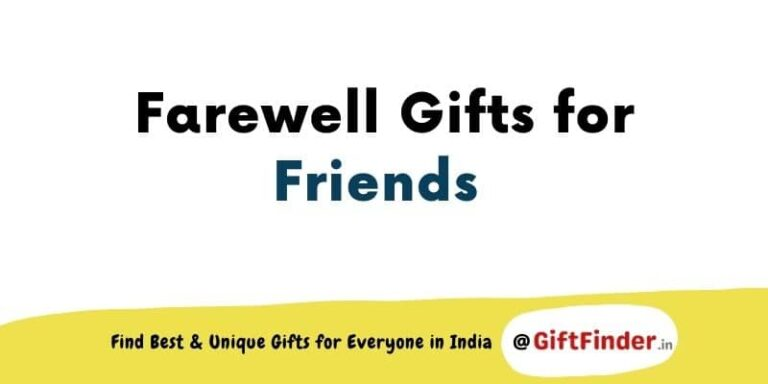 farewell gifts for friends