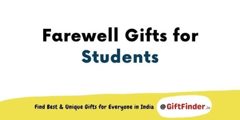 farewell gifts for students