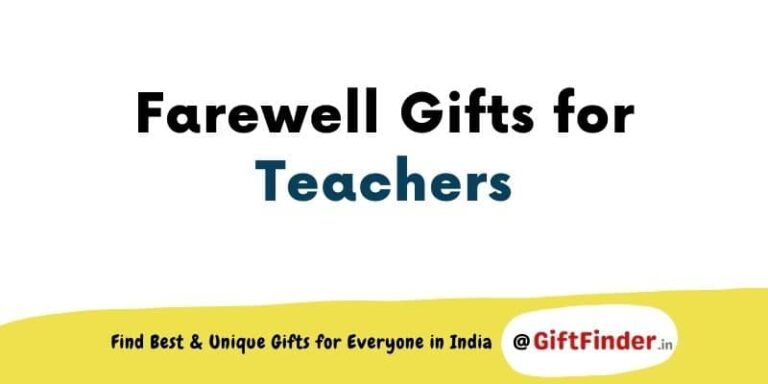 farewell gifts for teachers