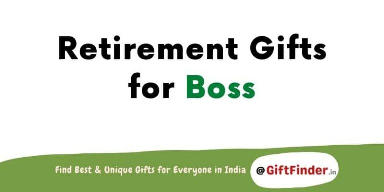 retirement gifts for boss