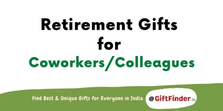 retirement gifts for coworkers