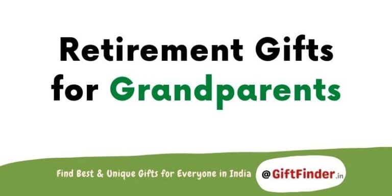 retirement gifts for grandparents