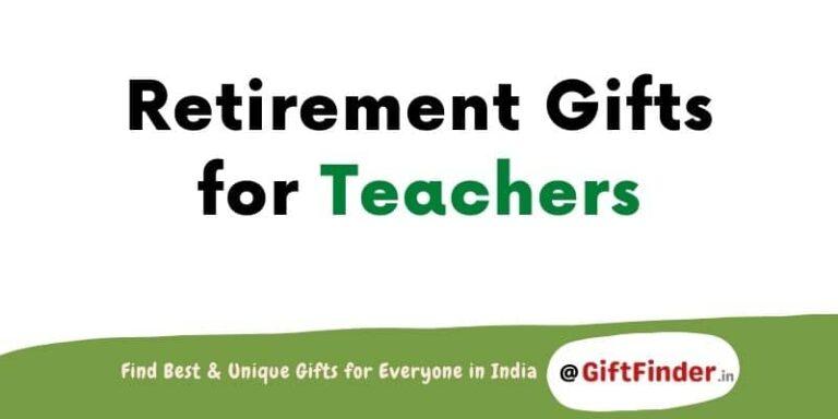 retirement gifts for teachers