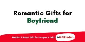 romantic gifts for boyfriend