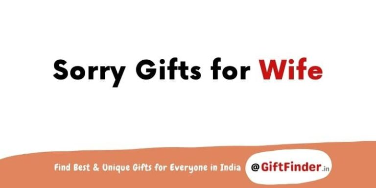 sorry gifts for wife