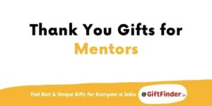 thank you gifts for mentors