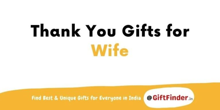thank you gifts for wife