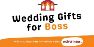 wedding gifts for boss