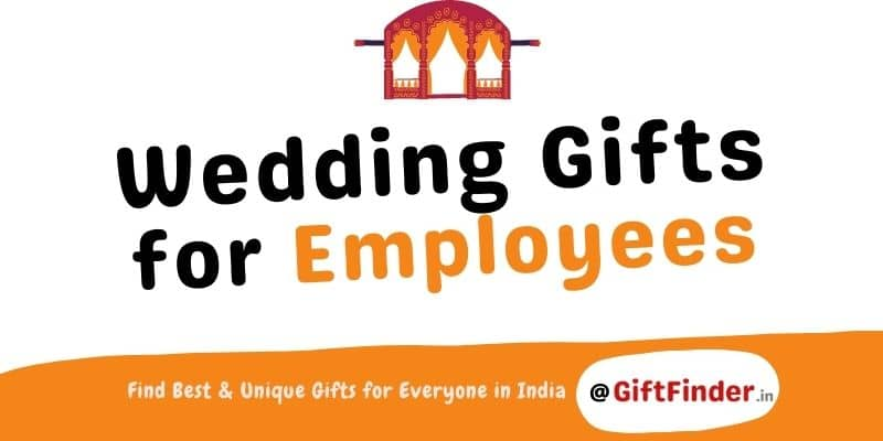 wedding gifts for employees
