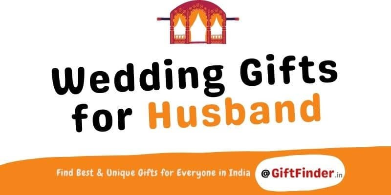 wedding gifts for husband