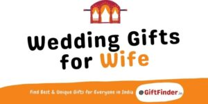 wedding gifts for wife