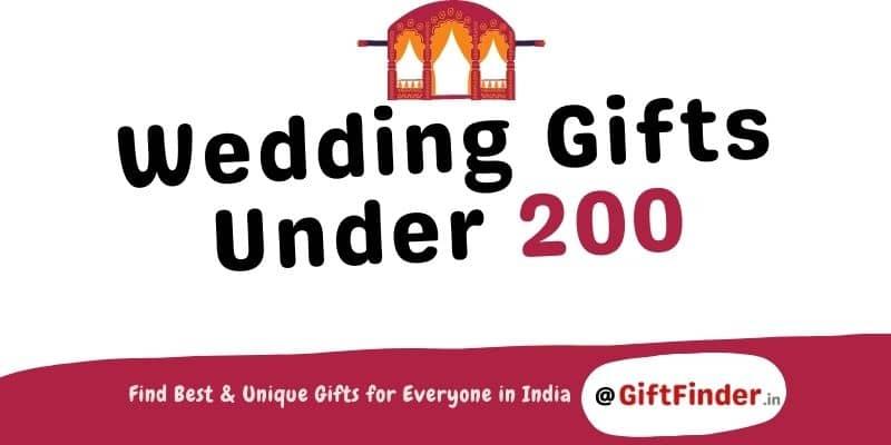 wedding gifts under 200